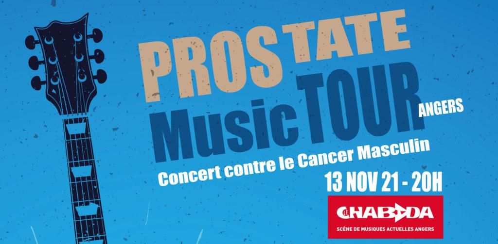 affiche Prostate Music Tour